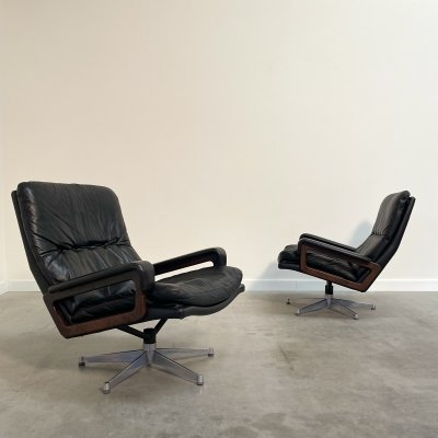 Two King chairs by André Vandenbeuck for Strässle, 1960s
