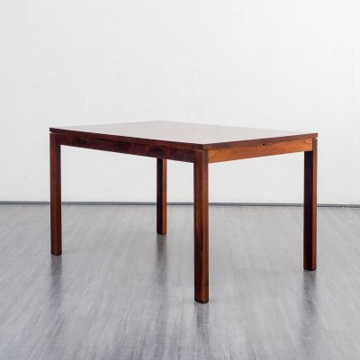 1960s dining table in rosewood