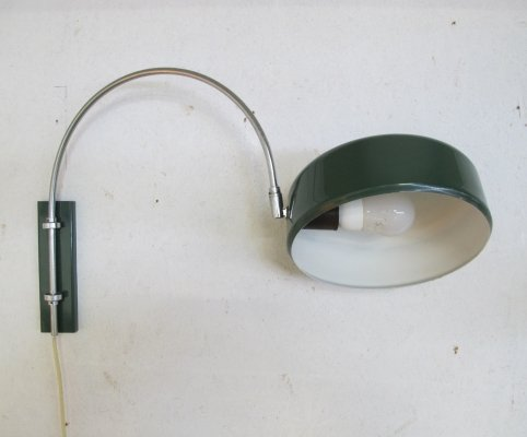 Vintage elbow wall lamp, 1960s