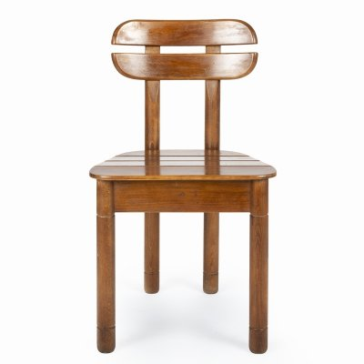 Wooden chair, 1970s