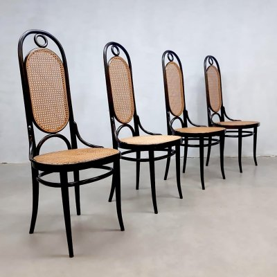 Vintage design dining chairs by Thonet, 1970s