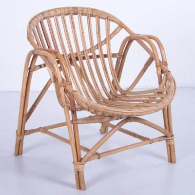 Bamboo relax chair, 1960s