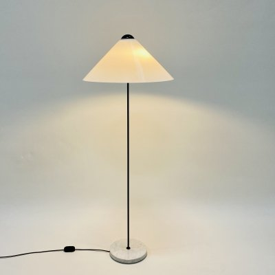 Snow floor lamp by Vico Magistretti for Oluce, Italy 1970s