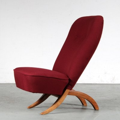 1950s Congo chair by Theo Ruth for Artifort, Netherlands