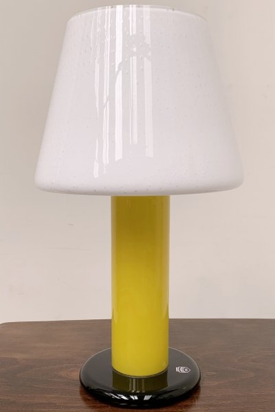 Murano glass table lamp by Cenedese Vetri, Italy 1960s