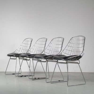 1950s 'SM05' Dining chairs by Cees Braakman for Pastoe, Netherlands