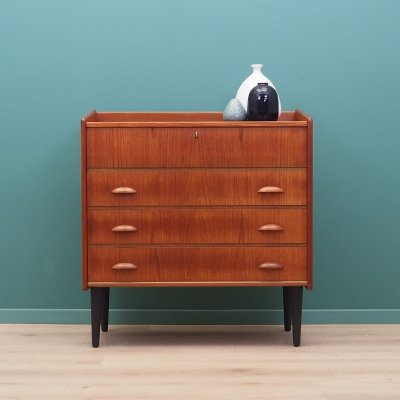 Teak dressing table by SW Finland, 1960s