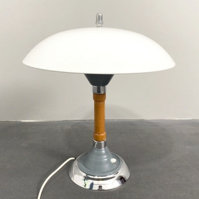 Panzerfaust Table Lamp by Kaiser Idell, Germany 1944