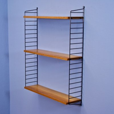 Swedish wall unit by Nisse Strinning for String Design AB, 1960s