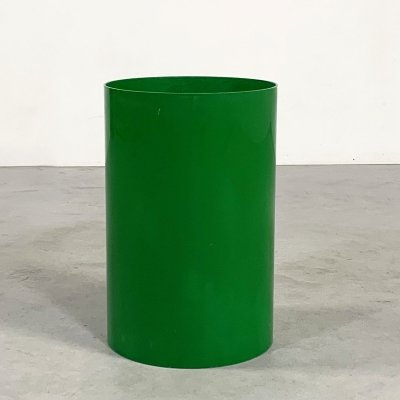 Green Umbrella Stand Model 4670 by Gino Colombini for Kartell, 1970s