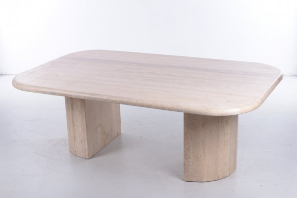 French Natural Stone Coffee Table, 1960s