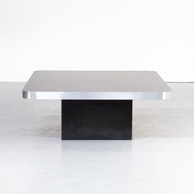 80s square coffee table