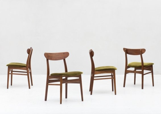Set of 4 dining chairs by Farstrup, 1960s
