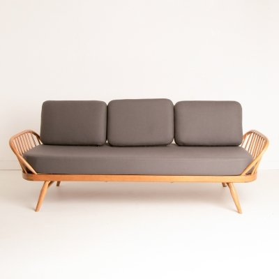 Light Bentwood Elm Ercol Daybed Sofa
