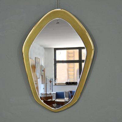 Model 1895 Mirror by Max Ingrand for Fontana Arte, 1950s