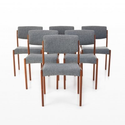 Set of 6 Bramin dining chairs, 1960s