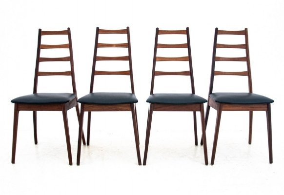 Set of 4 chairs, Denmark 1960s
