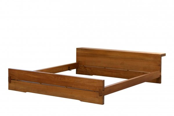 Pierre Chapo 'Louis' Bed L02 in Solid Elm, France 1960s