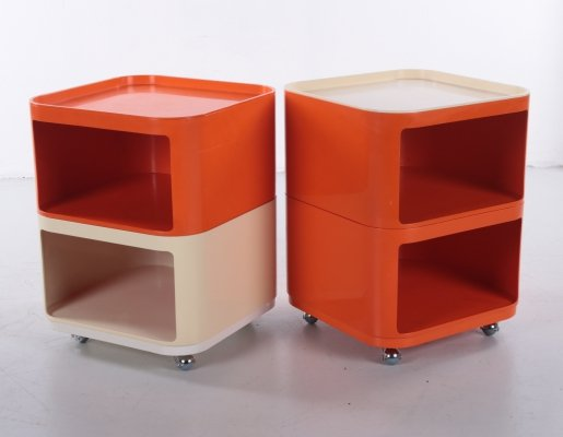 Set of cabinets by Anna Castelli Ferrieri for Kartell, Italy 1960s