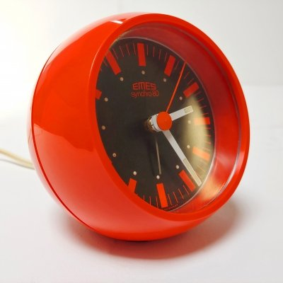 Space Age Design Synchro 80 Electric Alarm Clock by Emes, 1970s
