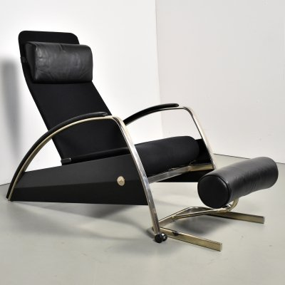 Grand Repose lounge chair by Jean Prouvé for Tecta, 1980s