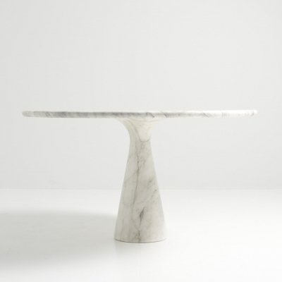 Pedestal Dining Table by Angelo Mangiarotti for Skipper, Italy 1970's