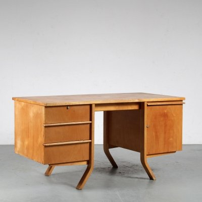 EB04 Desk by Cees Braakman for Pastoe, Netherlands 1950s