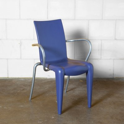 Purple Louis 20 armchair by Philippe Starck for Vitra, 1990s