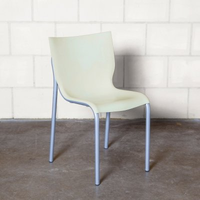First production cream 'Cheap Chic' chair by Philippe Starck for xO, 1990s