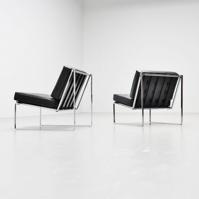 Kho Liang Ie 024 lounge chairs by Artifort, 1962