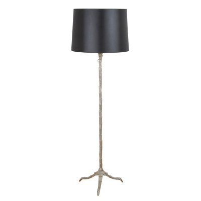 Silver French 1950s Bagues Floorlamp