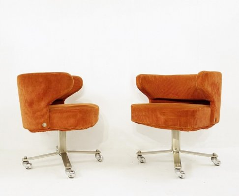Pair of 'Poney' Chairs by Gianni Moscatelli for Formanova Milano