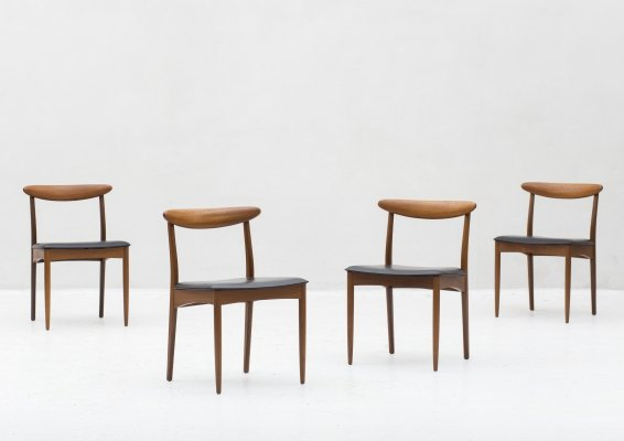 Set of 4 dining chairs by Greaves & Thomas, UK 1960's