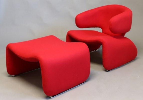 Arm chair by Olivier Mourgue for Airborne, 1960s