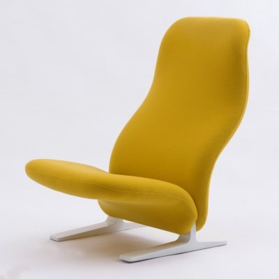 Condorde lounge chair by Pierre Paulin for Artifort, 1960s