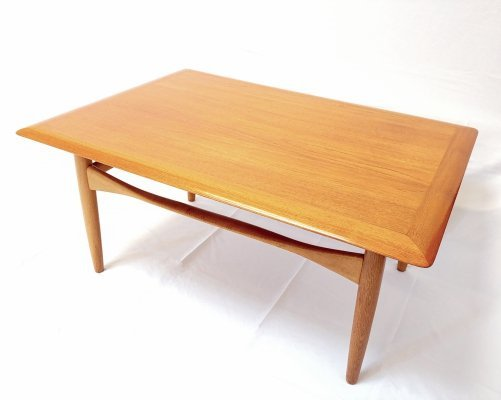 Mid Century Coffee Table by Aksel Bender Madsen for Bovenkamp Holland, 1960s