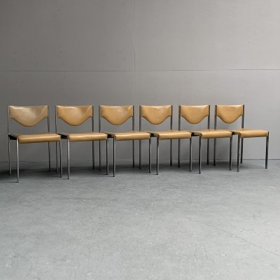 Set of 6 dining chairs from Lübke, Germany 1960s