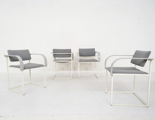 Set of four FM80 dining chairs by Pierre Mazairac & Karel Boonzaaijer for Pastoe