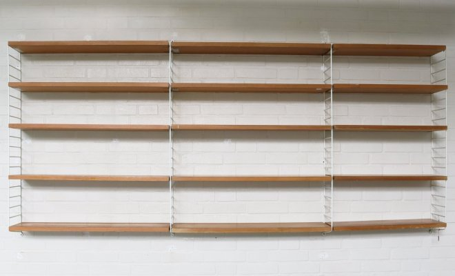 Wall system by Nisse Strinning, Sweden 1960s