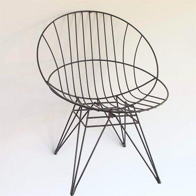 Pastoe 'Combex' Wire chair by Cees Braakman, 1950s