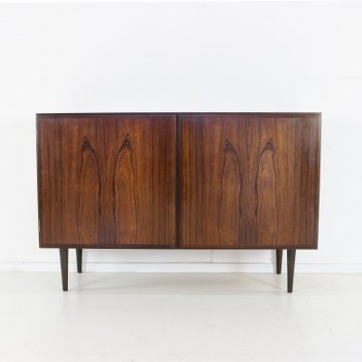 Small rosewood cabinet by Gunni Omann, 1960s