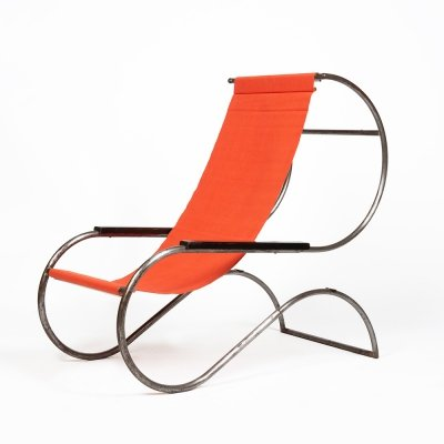 Early version of the famous 'Lido' chair by Battista & Gino Giudici, 1930s