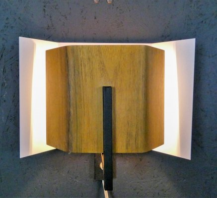 Vintage modernist NX121 wall lamp from Philips, Netherlands 1960s