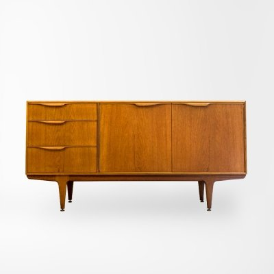 Mid Century Teak sideboard model Moy by T. Robertson for Mcintosh, UK 1970's