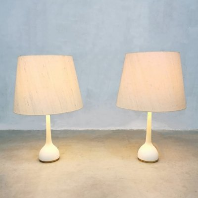 Pair of Swedish vintage design table lamps by Hans-Agne Jakobsson, 1960s