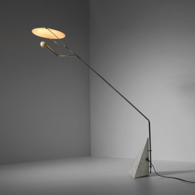 'Riflessione' floor lamp by Claudio Salocchi for Skipper, Italy 1973