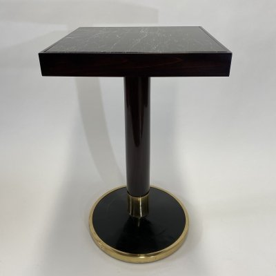 Side table with marble by Thonet, 1930s