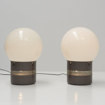 'Mezzoracolo' Table Lamps by Gae Aulenti for Artemide, Italy 1960's