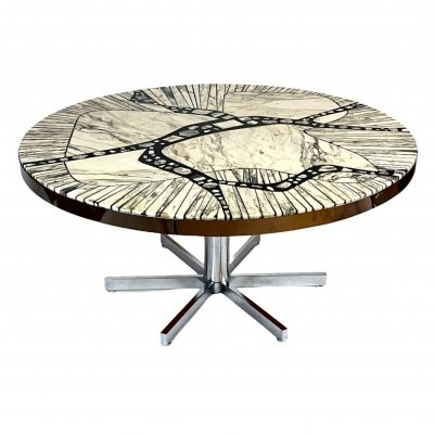 Heinz Lilienthal Coffee Table, 1960s/1970s