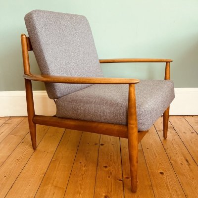 Early FD-118 chair by Grete Jalk for France & Daverkosen, 1950s